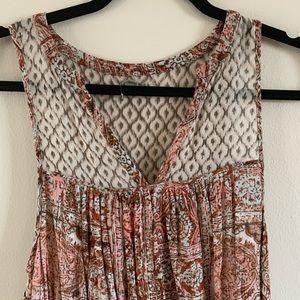 Urban Outfitters Dresses - UO   Ecote   Boho Pattern Mini Sundress Sz M